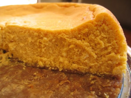 Pumpkin Pie Cheesecake {Flashback Friday!}