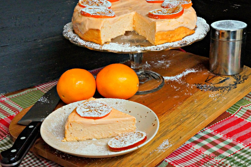 Orange Dream Cheesecake made with MilkSplash Flavoring