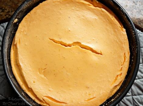 Orange Dream Cheesecake made with MilkSplash Flavoring
