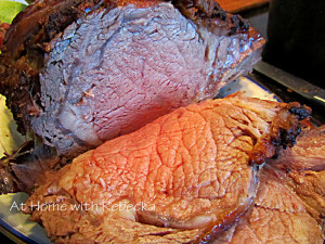 Garlic Infused Prime Rib Roast with Red Wine Gravy – Keeping up Holiday Traditions