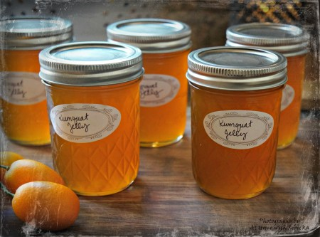 Kumquat Jelly Recipe-Canning