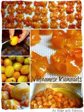 Kumquats, Preserved Kumquats, Vietnamese Candied Kumquats,