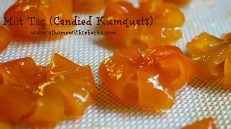 Mứt Tắc Preserved Kumquats, Vietnamese Candied Kumquats,