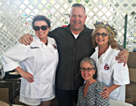 Gilroy Garlic Festival Chef Gronlund and Friends