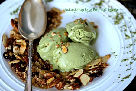 Matcha Mascarpone Ice Cream