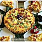Three Cheese Quiche Lorraine Recipe