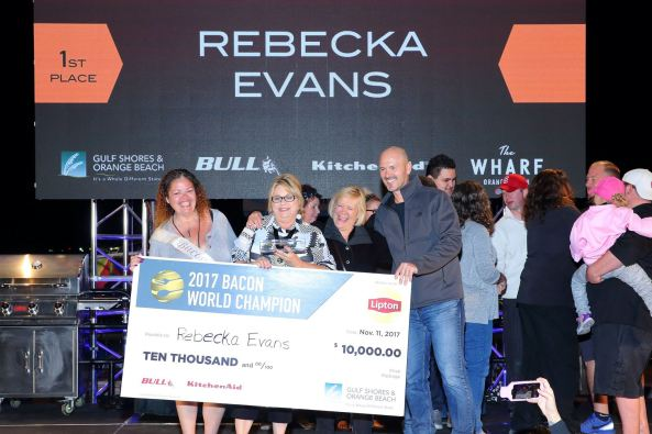 2017 Bacon World Champion Rebecka Evans