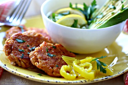 Chili-Lime Tuna Cakes Recipe