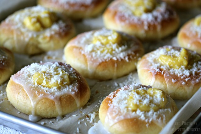 Vanilla Sweet Buns Recipe
