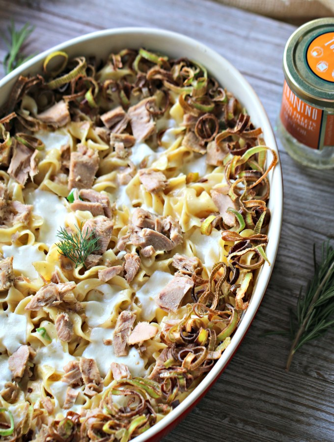 Tonnino Tuna Noodle Casserole