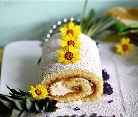 Pineapple Jelly Roll