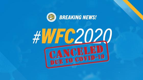 wfc2020 cancelled