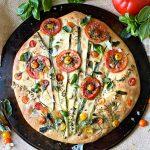 Tomato Focaccia Art Bread Recipe