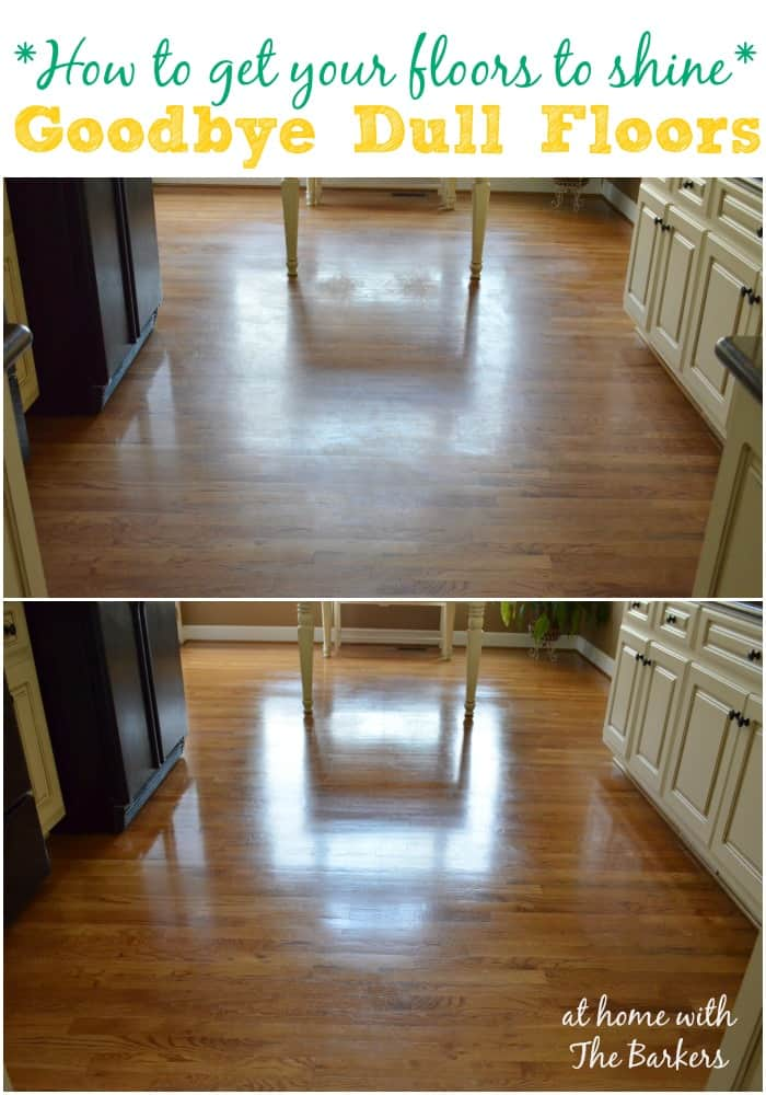 how to get your floors to shine at