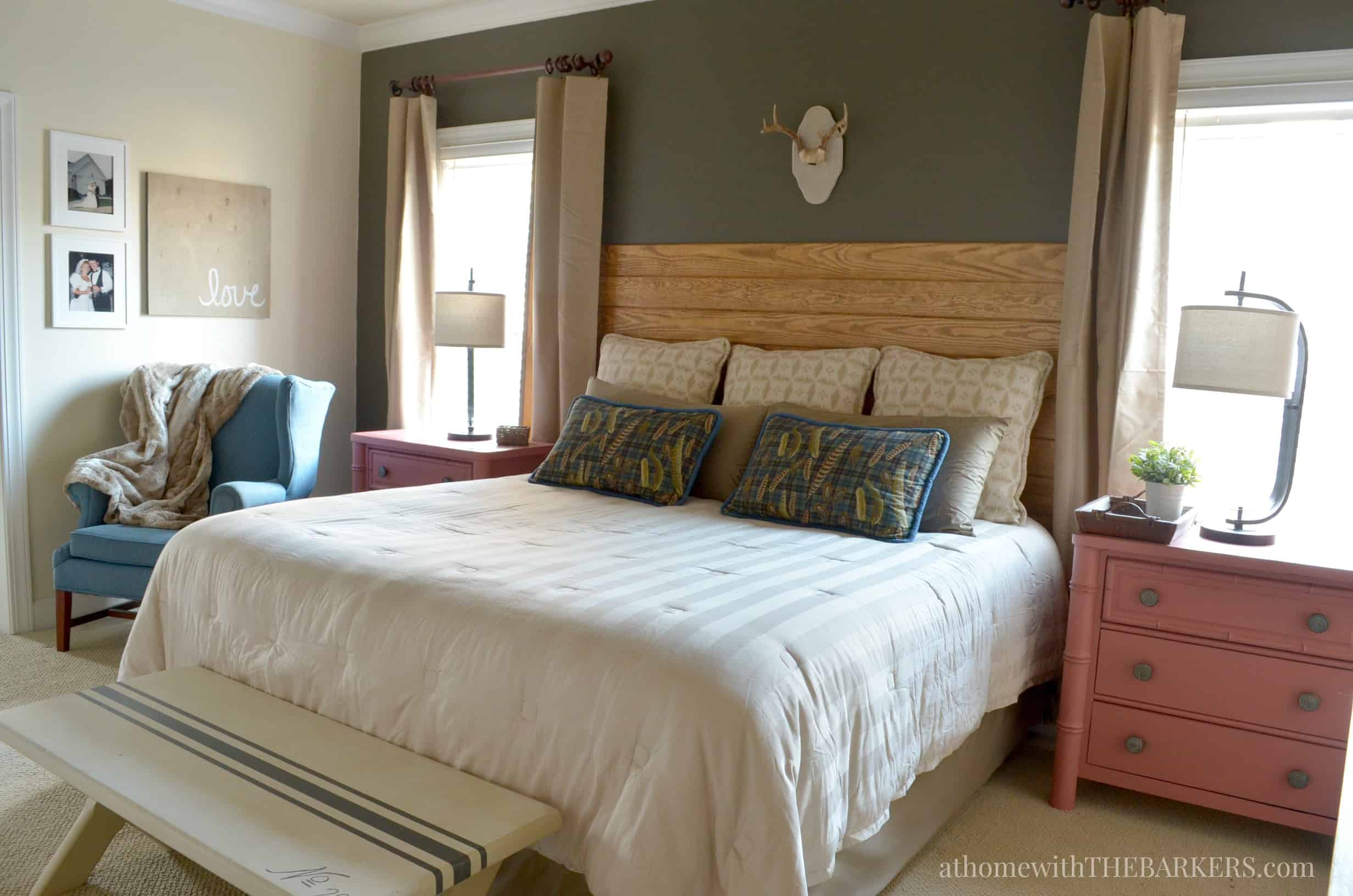 Master Bedroom Makeover Update - At Home with The Barkers on Makeup Bedroom  id=49221