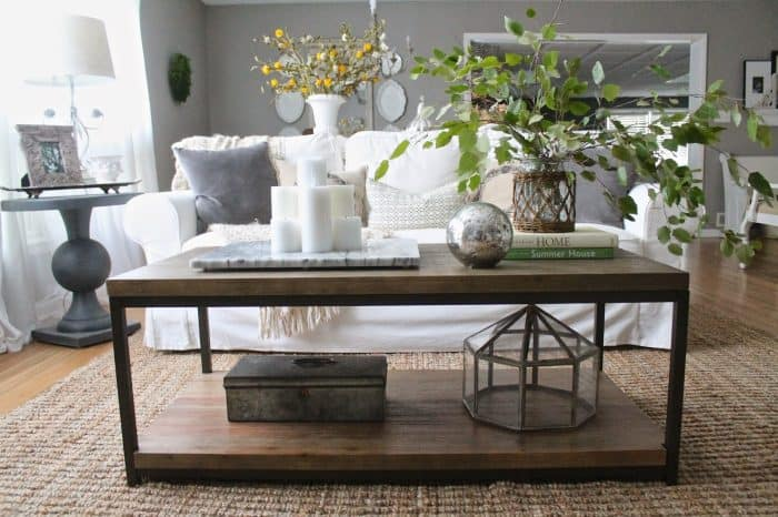 Coffee Table Inspiration- At Home with The Barkers on Coffee Table Inspiration  id=61900