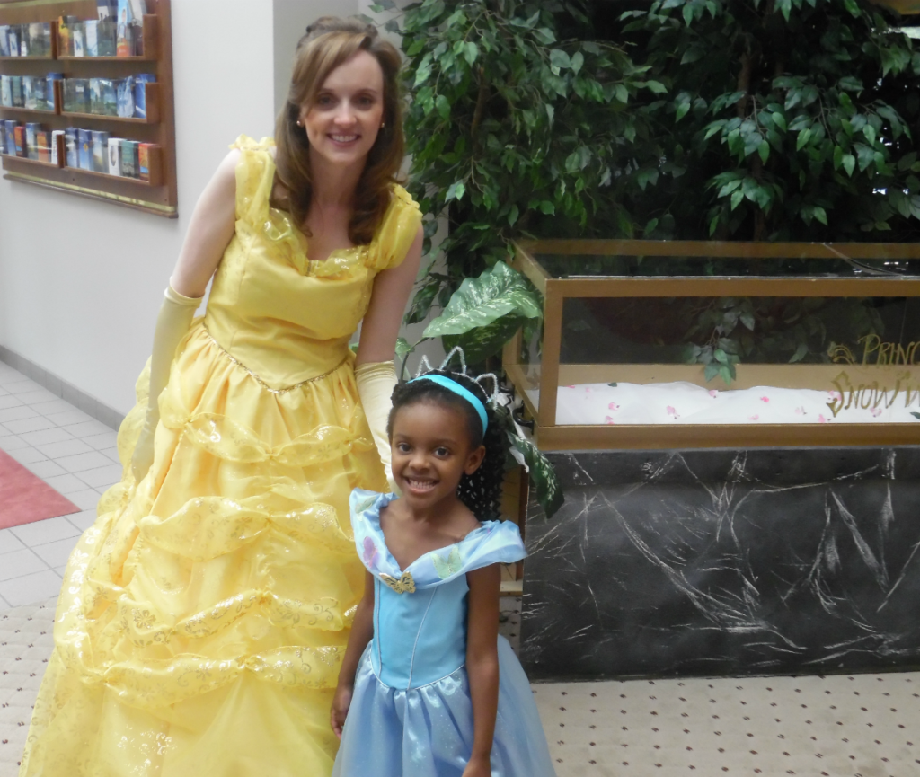 shenice with belle