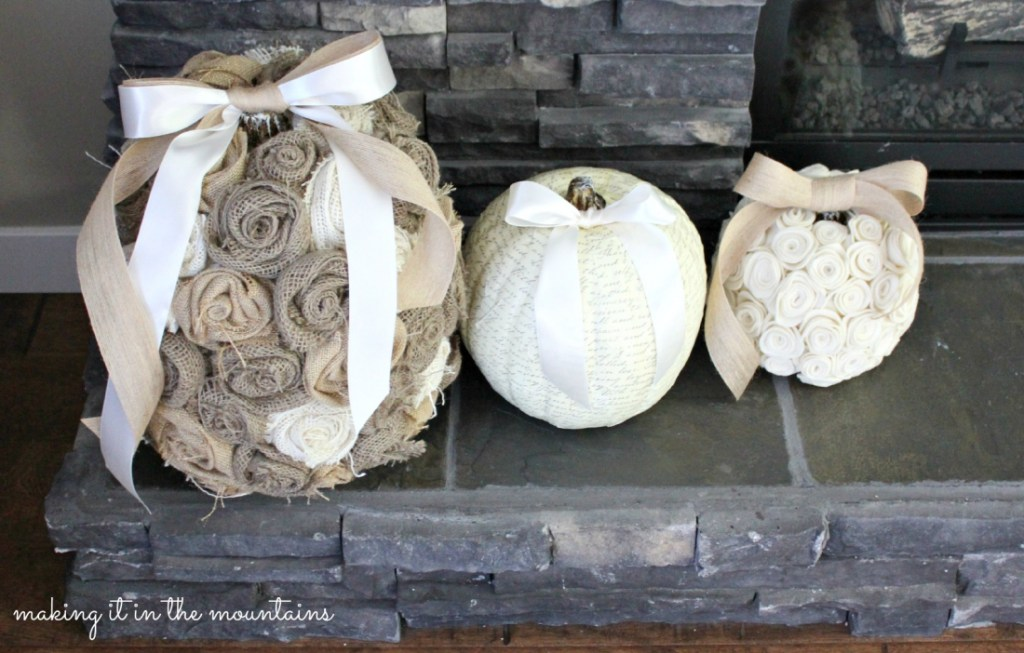 shabby-chic-pumpkins