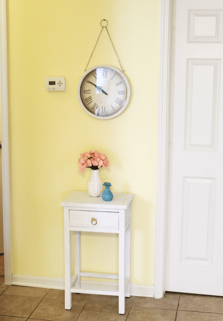 Small table end table makeover