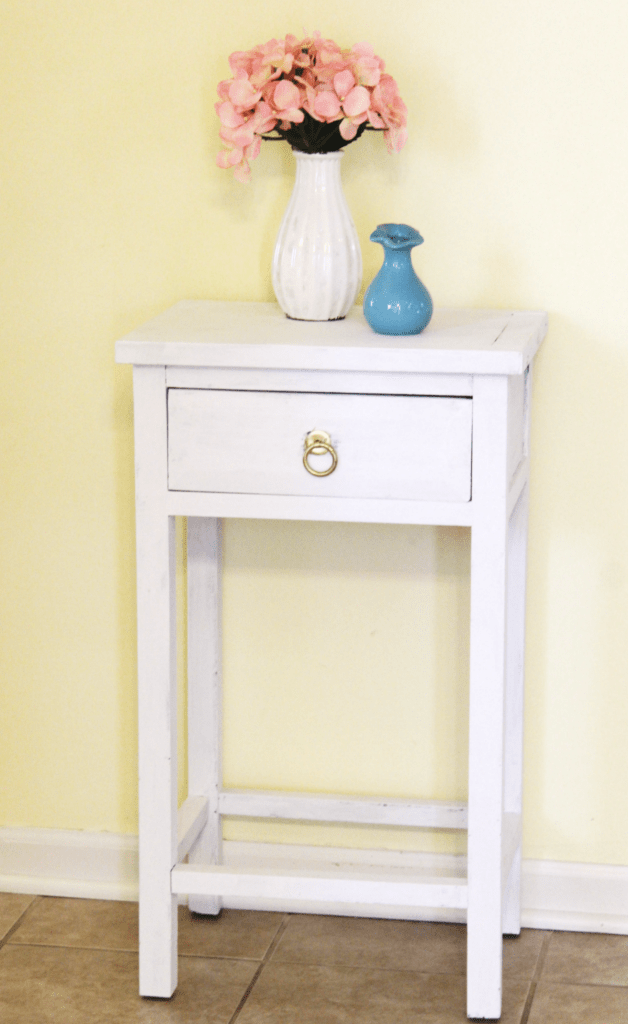 Small table makeover - end table