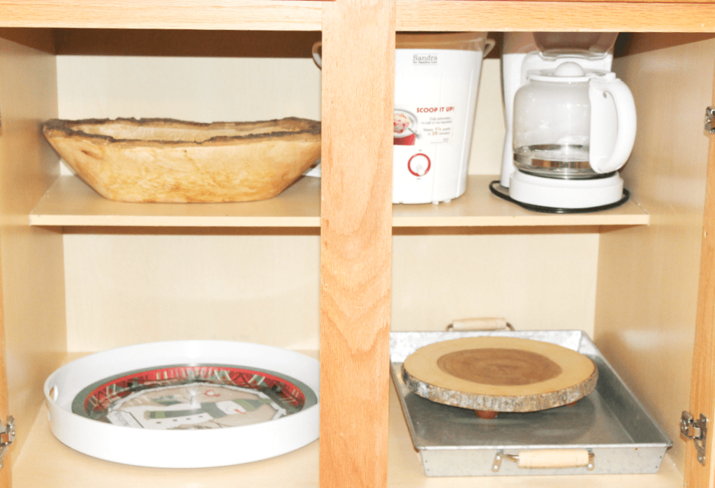 kitchen drawer organization - trays