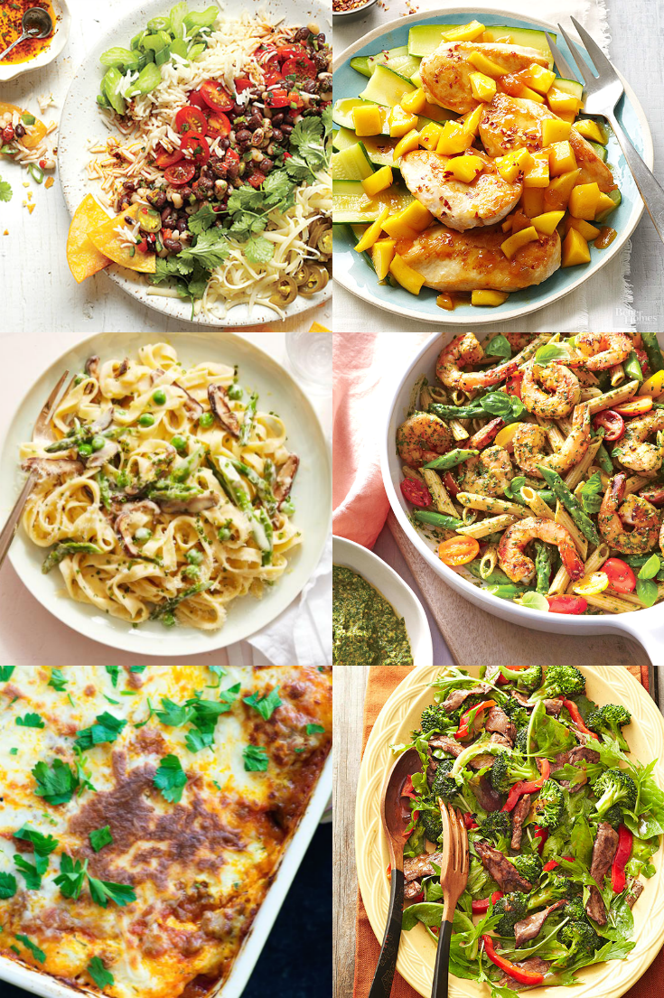 25 Week-Day Spring Dinners for Busy Families - At Home With Zan