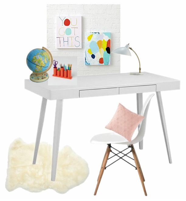 Kids Bedroom Makeover - Design Board