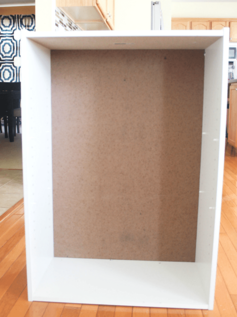 How to Restore a Broken Bookshelf - With Better Cardboard Backing - At Home With Zan