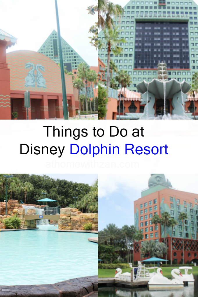 Family Activities to Do at Disney Dolphin Resort - At Home With Zan