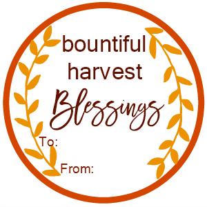 Harvest Blessings New