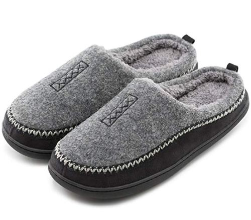 Cozy Slippers for Men - Pure and Natural - Holiday Gift Guide for Moms and Dads - Parents Gifts - Spouse Gifts - At Home With Zan