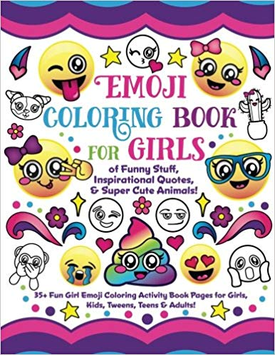 Emoji Activity Book - Holiday Gift Guide for Girls 6-8 Years Old - At Home With Zan