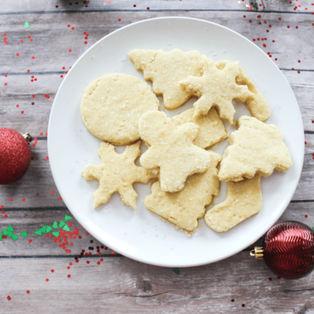 Best Holiday Shortbread Cookies Ever
