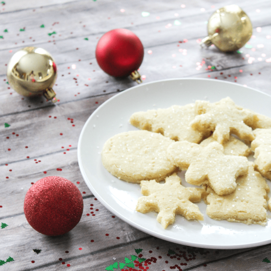 Holiday Shortbread Cookies - At Home With Zan
