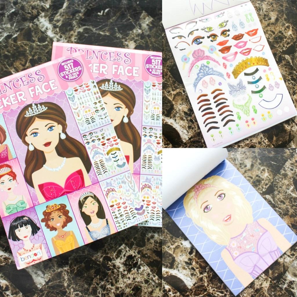 sticker face books