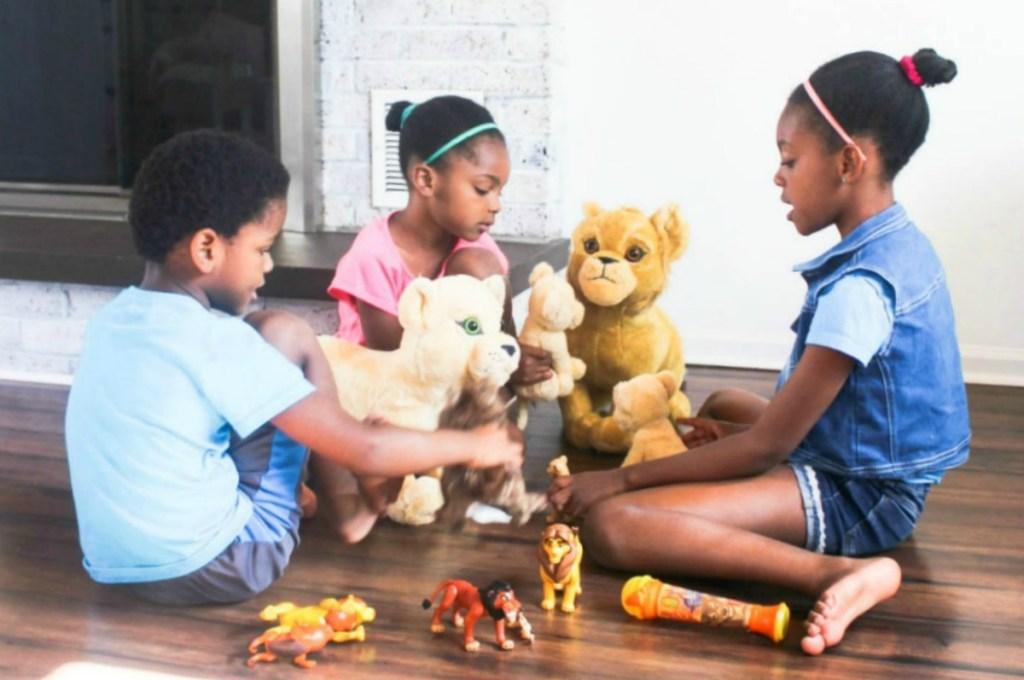 Disney's The Lion King plush toys