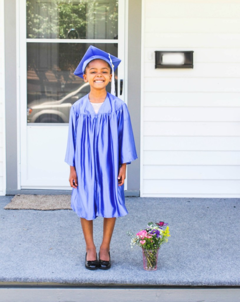 kindergarten graduation photo shoot