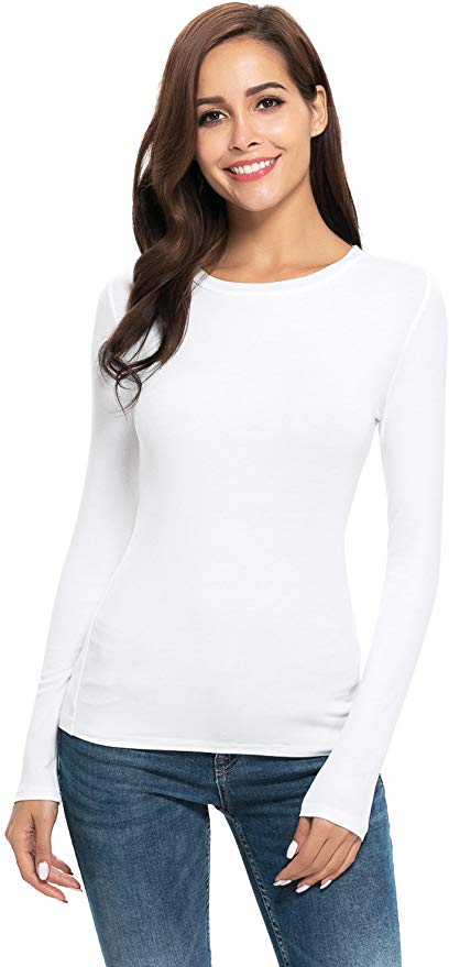 women's long sleeve under shirt
