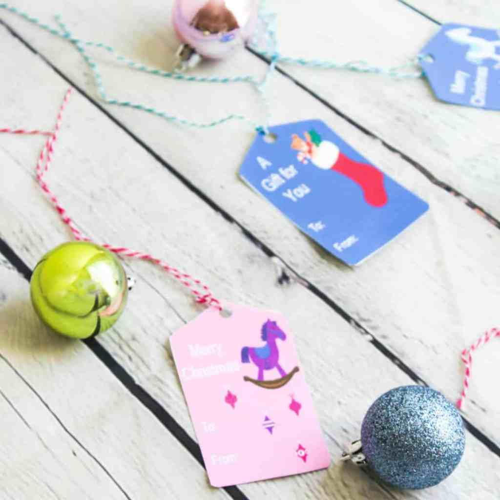 Christmas Gift Tags for Kids