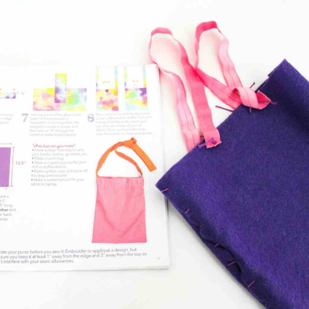 craft sewing kit for little girls