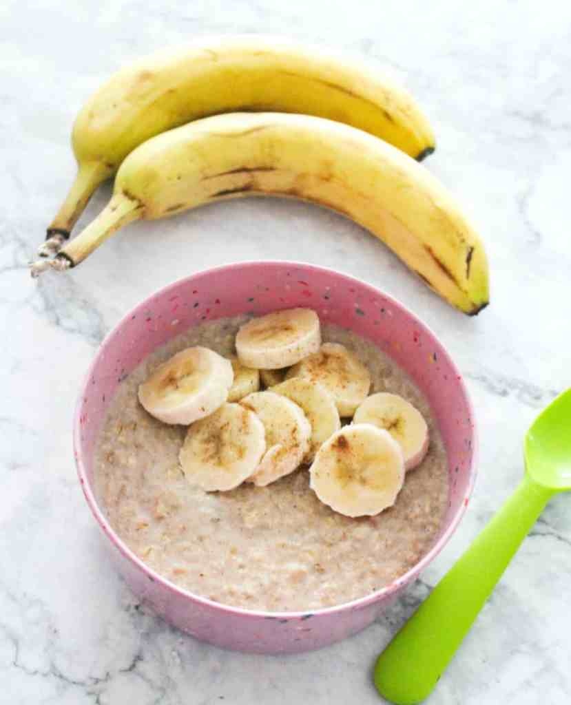 Healthy Oatmeal Bowls for Kids