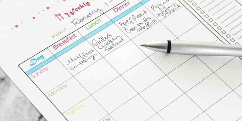 Reasons Why You Should Meal Plan -Plus Free Meal Planning Printable - athomewithzan.com