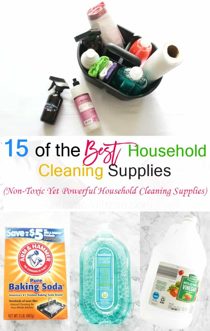 household cleaning supplies