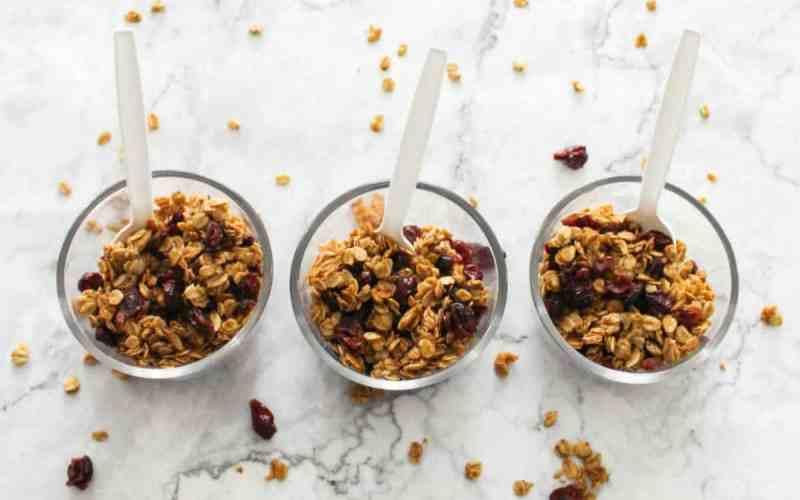 Easy Granola Snack Bowls