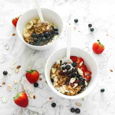 Yogurt Breakfast Bowls