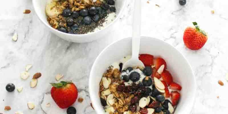 Yogurt Breakfast Bowls