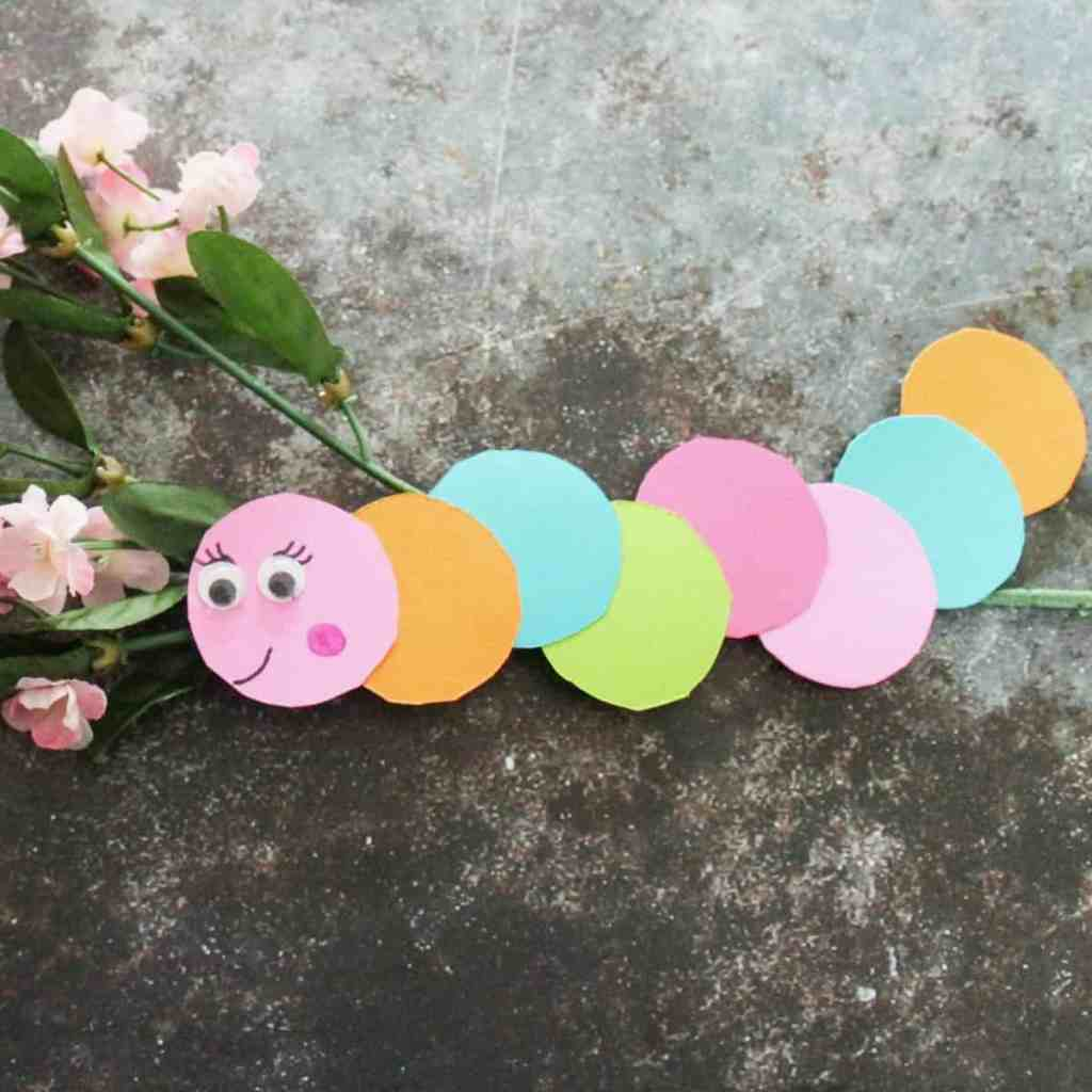 Paper Circle Worms