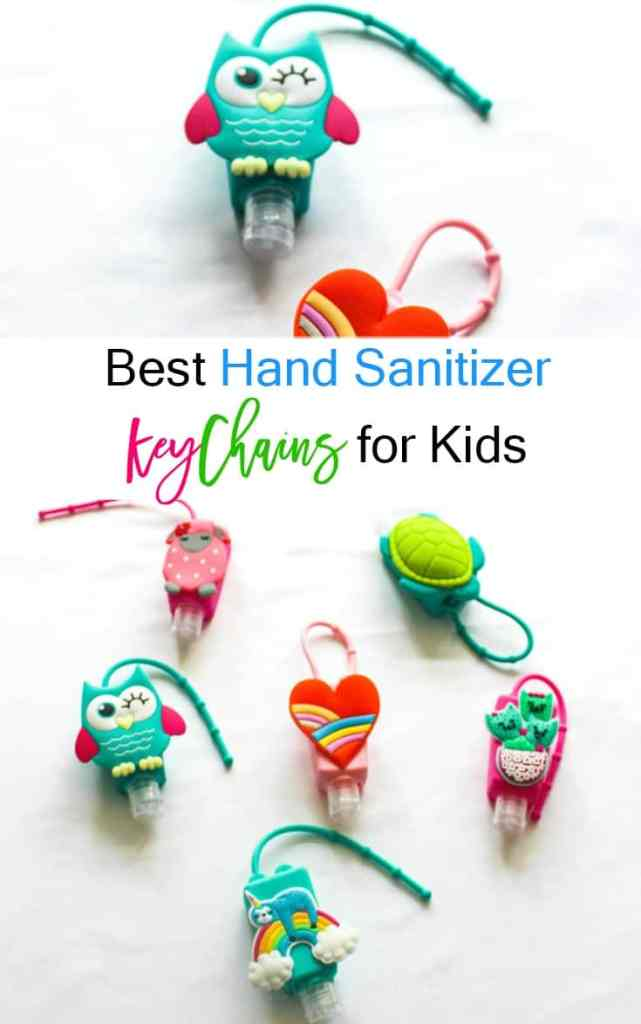 Hand Sanitizer Key Chain - Hand Sanitizer Holders - athomewithzansd.com