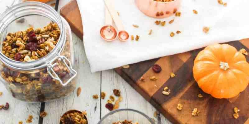 Healthy-Pumpkin-Granola-Pumpkin-Granola-Fall-Granola-Mix-Autumn-Granola-Mix-Harvest-Granola-Mix-Granola-Recipe-athomewithzan.com