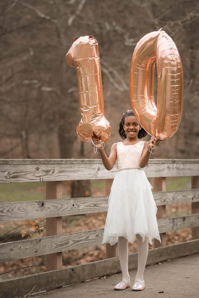 Our Eldest Daugther Turns 10 - Our First Child Turns Ten - Kids Birthday Ideas - Girls Birthday Party Ideas - 10th Birthday Party Ideas - Ideas for 10 Year Old Birthday -athomewithzan (